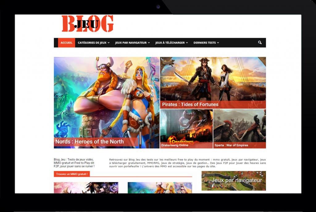 Blog Jeu – Blog thématique