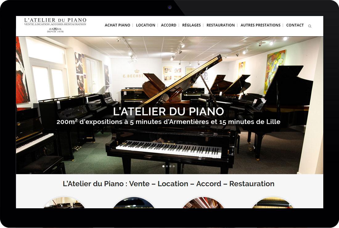 d9690363ca35e L'Atelier du Piano - Création de site et SEO - Guenez.com