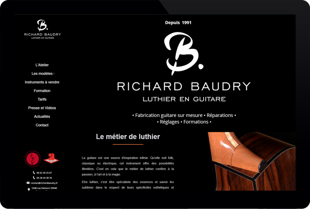 Richard Baudry - Luthier